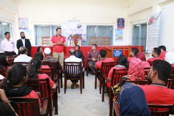 AVCBII project facilitated a learning visit by IUB students on Village Courts