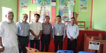 Additional Secretary of Local Government Division visits the Village Court in Kulaura
