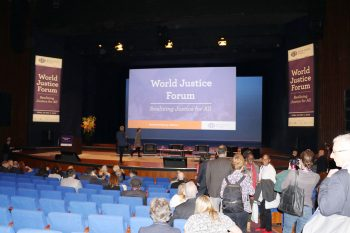 AVCB II participated in the World Justice Forum