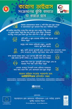 Poster on COVID-19 Awareness in Bangla