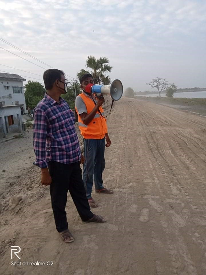 AVCB II Project responses to cyclone Amphan in coastal districts